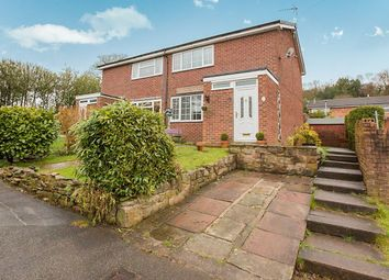 Thumbnail 2 bed semi-detached house for sale in Clare Street, Mow Cop, Stoke-On-Trent