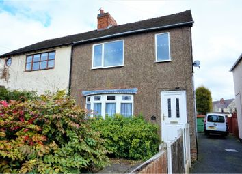 Thumbnail 2 bed semi-detached house for sale in Pye Green Road, Cannock