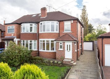 Thumbnail 3 bed semi-detached house for sale in Kedleston Road, Leeds, West Yorkshire