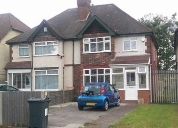 Thumbnail 3 bed semi-detached house to rent in Washwood Heath Rd, Birmingham