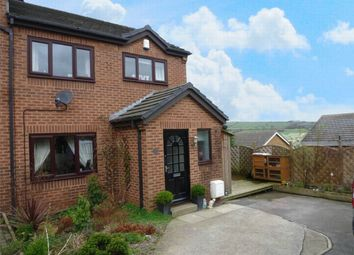 Thumbnail 3 bed semi-detached house for sale in Ings Mill Drive, Clayton West, Huddersfield, West Yorkshire