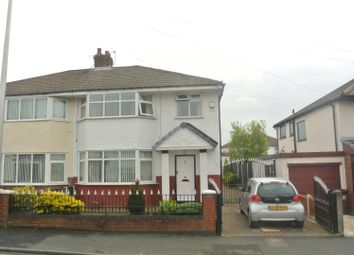 Thumbnail 3 bed semi-detached house for sale in Marina Crescent, Huyton, Liverpool