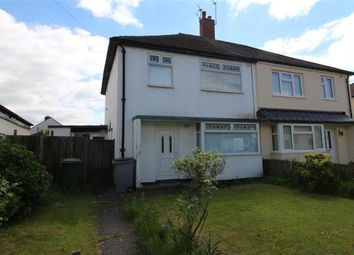 Thumbnail 3 bed semi-detached house for sale in Fairmead Road, Moreton, Wirral
