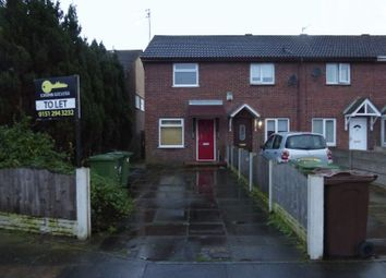 Thumbnail 2 bedroom terraced house to rent in Ronan Close, Bootle