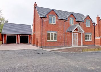 Brereton Hill Lane, Upper Longdon, Rugeley WS15. 4 bed detached house for sale