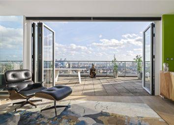 Thumbnail 2 bed flat for sale in Avantgarde Tower, 1 Avantgarde Place, London