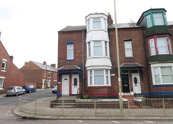 Thumbnail 4 bed flat for sale in Thornton Avenue, South Shields