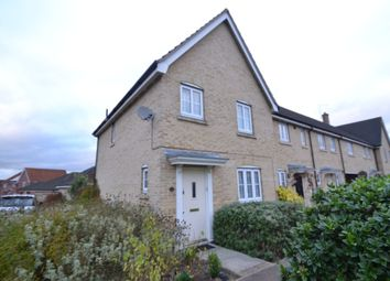 Thumbnail 3 bed end terrace house to rent in Aragon Road, Haverhill