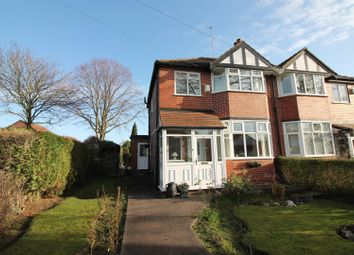 Thumbnail 3 bed semi-detached house for sale in Cornhill Road, Urmston, Manchester