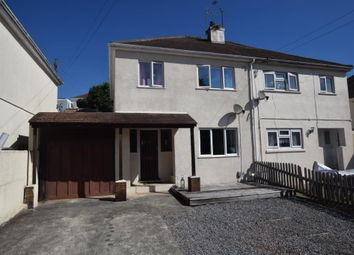 Thumbnail 3 bed semi-detached house for sale in All Hallows Road, Preston, Paignton, Devon