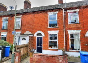 Thumbnail 2 bed terraced house for sale in Knowsley Road, Norwich