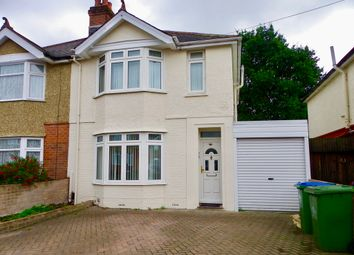Thumbnail 3 bed semi-detached house to rent in Lancaster Road, Southampton