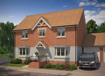 "Thumbnail 4 bed property for sale in ""The Copthorne"" at Knight Road, Wells"