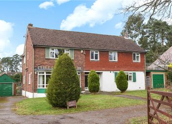 Thumbnail 5 bedroom detached house for sale in Gables Road, Church Crookham, Fleet