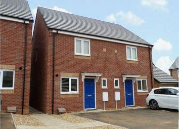 Thumbnail 2 bed semi-detached house to rent in Libertas Drive, Stanground, Peterborough
