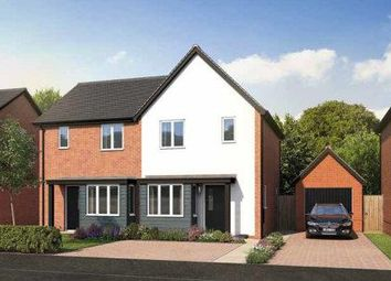 Thumbnail 2 bed semi-detached house for sale in Station Road, Ibstock, Leicestershire