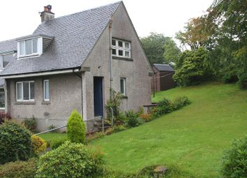 Thumbnail 2 bedroom end terrace house for sale in High Park, Tarbert