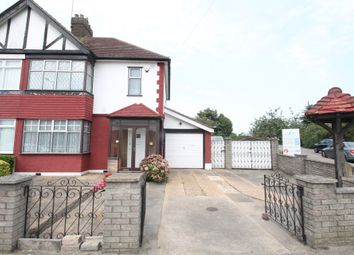 Thumbnail 3 bed end terrace house for sale in Forest Road, Barkingside, Essex