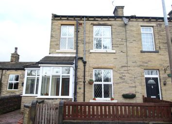 Thumbnail 1 bed end terrace house for sale in Manor Street, Scholes, Cleckheaton, West Yorkshire