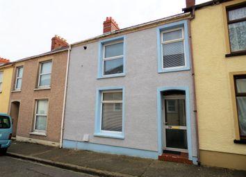 Thumbnail 2 bed terraced house for sale in Wellington Street, Pembroke Dock