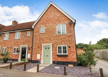 Thumbnail 3 bedroom end terrace house to rent in Ryefield Road, Mulbarton, Norwich