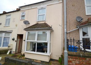 Thumbnail 3 bed terraced house to rent in Buccleuch Street, Kettering