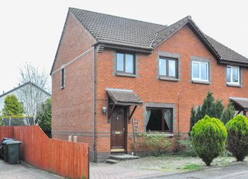 Thumbnail 3 bed detached house for sale in Thriepland Wynd, Perth