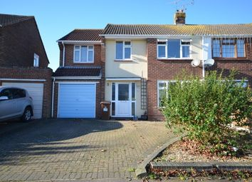 Thumbnail 4 bed semi-detached house to rent in Courtfield Avenue, Chatham