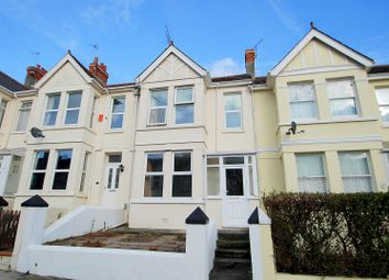 Thumbnail 3 bedroom terraced house for sale in Stangray Avenue, Mutley, Plymouth