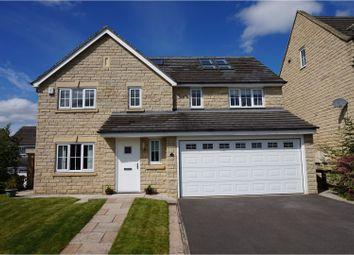 Thumbnail 6 bed detached house for sale in Grenoside View, Highburton, Huddersfield