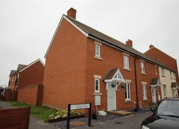 Thumbnail 3 bed end terrace house for sale in Birkbeck Chase, West Wick, Weston-Super-Mare