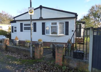 Thumbnail 2 bed mobile/park home for sale in Russet Avenue, Grange Farm Estate, Upper Halliford Road, Shepperton, Surrey