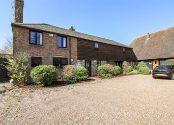 Thumbnail 4 bed barn conversion for sale in Felderland Close, Worth, Deal
