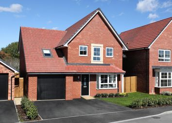 """Thumbnail 4 bed detached house for sale in """"Harrogate"""" at Huntingdon Road, Thrapston, Kettering"""