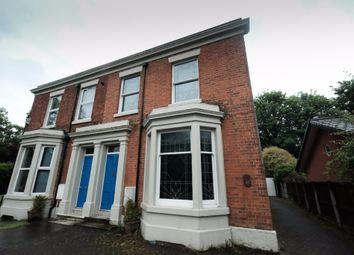 Thumbnail 1 bedroom flat to rent in Apt 1 Front Watling Street Road, Fulwood, Preston