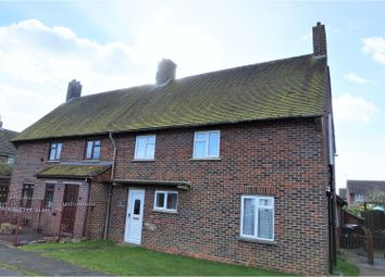 Thumbnail 3 bed semi-detached house for sale in Cooks Lane, Southbourne, Emsworth