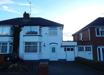 Thumbnail 3 bedroom detached house for sale in Green Park Road, Northfield, Birmingham