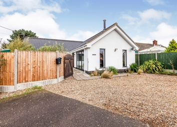 Thumbnail 2 bed detached bungalow for sale in Skinners Lane, Metfield, Harleston