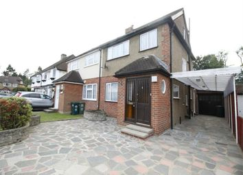 Thumbnail 4 bedroom semi-detached house to rent in Rex Avenue, Ashford, Surrey