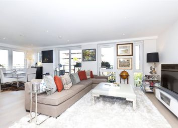 Thumbnail 3 bed flat to rent in Wharf Road, London