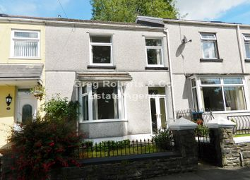 Thumbnail 3 bed terraced house for sale in Oakfield Road, Tredegar, Blaenau Gwent.