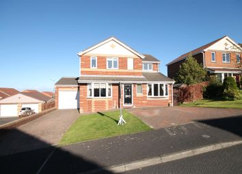 Thumbnail 4 bed detached house to rent in Hill Crest, Sacriston, Durham