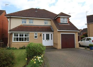 Thumbnail 4 bedroom detached house for sale in Fitzgerald Close, Ely