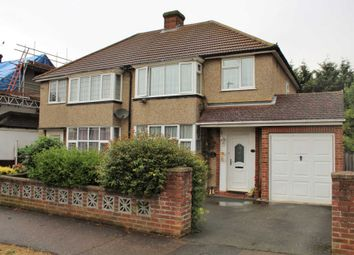 Thumbnail 3 bed semi-detached house for sale in Wendover Drive, Bedford