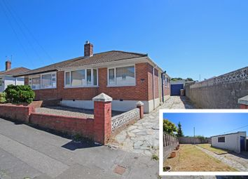 Thumbnail 2 bed semi-detached bungalow for sale in Lynwood Avenue, Woodford, Plympton, Plymouth