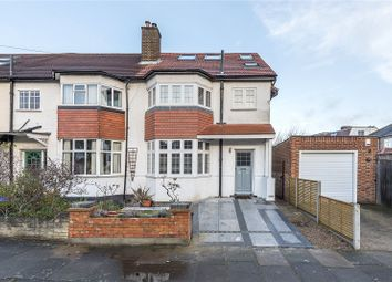 Thumbnail 4 bed semi-detached house for sale in Cross Deep Gardens, Twickenham