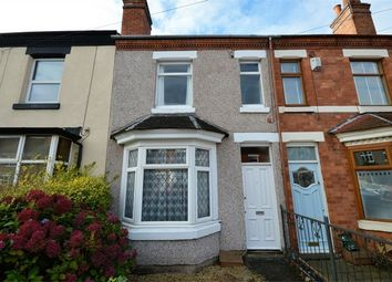 Thumbnail 3 bed terraced house for sale in Stanley Road, Earlsdon, Coventry, West Midlands