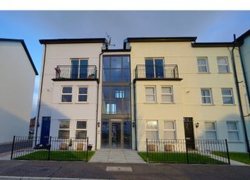 Thumbnail 2 bed flat for sale in Linen Place, Bangor