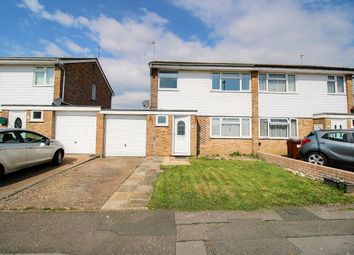 Thumbnail 3 bed semi-detached house for sale in Chaffinch Road, Eastbourne