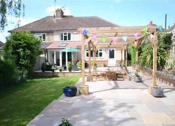 Thumbnail 4 bed semi-detached house for sale in Marston Road, Farnham, Surrey